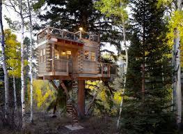 amazing treehouse designs sunset