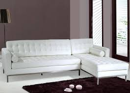 Contemporary White Leather Sectional Sofa by 30 Ideas Of White Leather Sofas