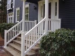 Exterior Stair Railing by Decorative Stair Railings Vandome