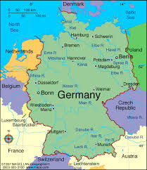map of germany in europe maps germany map maps of germany europe