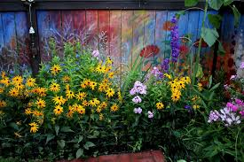 Garden Mural Ideas Garden Mural Ideas Inspiration I Revived Our Garden Fence By
