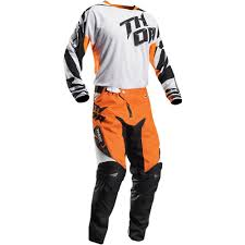 metal mulisha motocross boots thor 2017 fuse air dazz jersey and pants package white orange