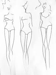 How To Draw Fashion Designs Tutorial How To Create A Fashion Template From Your Own Body