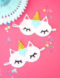 halloween clipart eye mask pencil no sew diy unicorn sleeping masks with free template party ideas