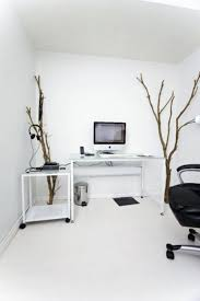 Minimalistic Desk Awesome Whitte Home Office Decor With Simple Desk And Personal
