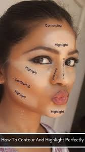 the best way to highlight and contour various trusper tip