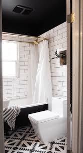 best ideas about black ceiling pinterest scandinavian bathroom subway tiles brass modern ideas downstairs beautiful bathrooms black white small