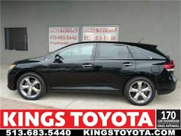 toyota car showroom certified used 2014 toyota venza sport utility for sale kings