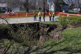 Florida Sinkhole Map by Sinkhole Swallows Des Moines Yard Iowa Public Radio