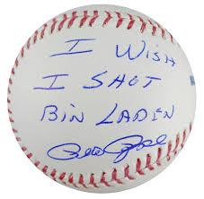 Johnny Bench Autograph Baseball Pete Rose Images Psa Autographfacts
