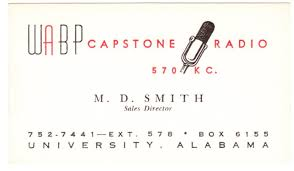 Bp Business Card M D Smith Iv Memories From 1963 To 1999