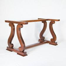 dining table base wood iron table bases pedestal table bases artesanos design collection