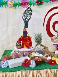 Tropical Theme Birthday Cake - moana birthday party with incredible details make life lovely