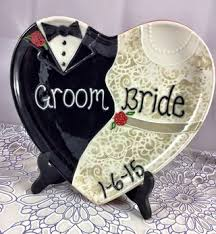 ceramic wedding plates custom ceramic wedding plate wedding wedding