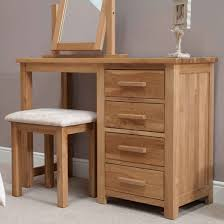 small dressing table with mirror and stool opus oak dressing table stool furniture4yourhome simple design