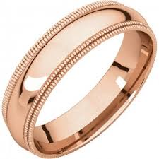 gold mens wedding band 18k gold wedding bands