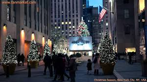Where Is The Christmas Tree In New York City New York City Christmas Season Collage Video Youtube Com