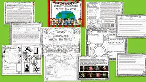 second grade smarties celebrating holidays around the world