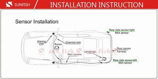 Blind Spot Detection System Installation Parking Sensors Parktronic Blindspot Aid System Easy Change Lane