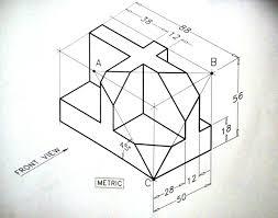 isometric drawing exercise isometric draw disegno esercizi