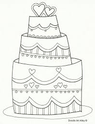 215 best coloring cake u0027s images on pinterest coloring pages