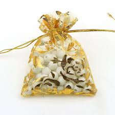 gold organza bags bag rice picture more detailed picture about 7x9cm organza bags