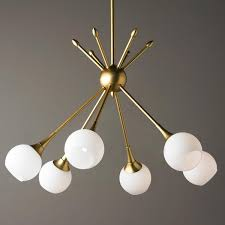 Modern Light Fixtures by Mid Century Modern Mobile Chandelier 6 Light Midcentury Modern
