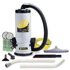 quietpro bp hepa 6 qt backpack vacuum w xover multi surface