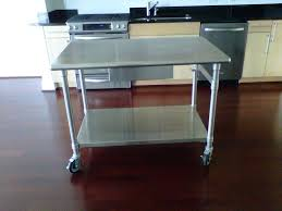 home depot stainless steel table stainless steel kitchen work table island kitchen island designs