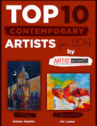 likeness of top ten modern top 10 contemporary artists for 2014 announced by artist become