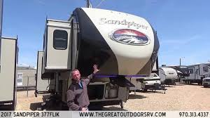 2017 sandpiper 377flik s105 youtube