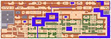 Legend Of Zelda Map With Cheats | mike s rpg center the legend of zelda