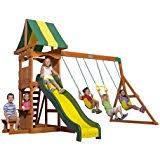 amazon com big backyard andorra swing set playset toys u0026 games