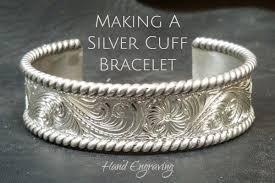 make silver bracelet cuff images Making a silver cuff bracelet hand engraving cowboy specialist jpg