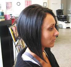 long bob with dipped ends hair drastic a line bob haircut holly dramatic a line photos from