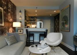 Room Design Pics - small living room design with white couch and elegant accessories