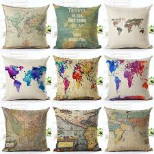 Map Bedding Map Pillows Reviews Online Shopping Map Pillows Reviews On