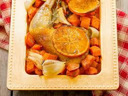 cuisiner des cuisses de pintade recette pintade à l orange et aux épices de noël femininbio