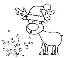 dibujos navideñas para colorear reno de navidad para colorear para reno navideno para colorear