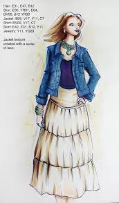 i like markers quick fashion sketch u0026 class updates