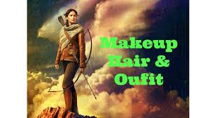 katniss costume katniss everdeen catching makeup hair and