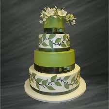 Wedding Cake Green Modern Five Tier Gold Fondant Wedding Cake Wedding Cake Palermo