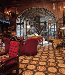 architecture interior design steampunk victorian haunted mansion