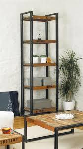 narrow wood bookcase cadel michele home ideas short narrow