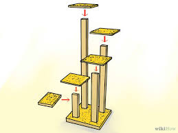 Free Diy Cat Tree Plans by 294 Best Cat Trees And Condos Images On Pinterest Cat Stuff Cat