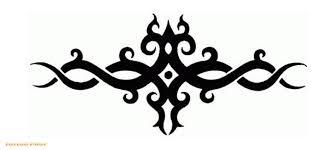 black tribal armband designs