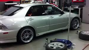 lexus is200 xxr wheels lexus is300 18x9 35 enkei rpf1 all around hd quality youtube