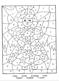 color by number coloring pages coloring page for kids kids coloring
