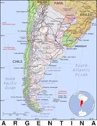 Bariloche Argentina Map Ar Argentina Public Domain Maps By Pat The Free Open Source