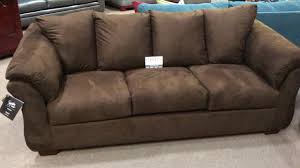 Ashley Leather Sofa And Loveseat Ashley Furniture Darcy 7500 Flared Pillowtop Arm Sofa Loveseat Set